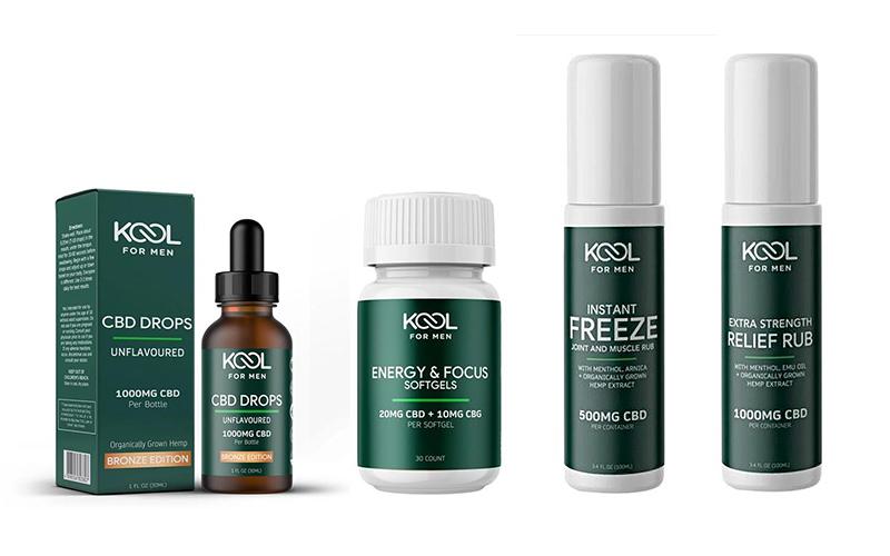 Kool for Men CBD Oil and Skincare - Destination Deluxe