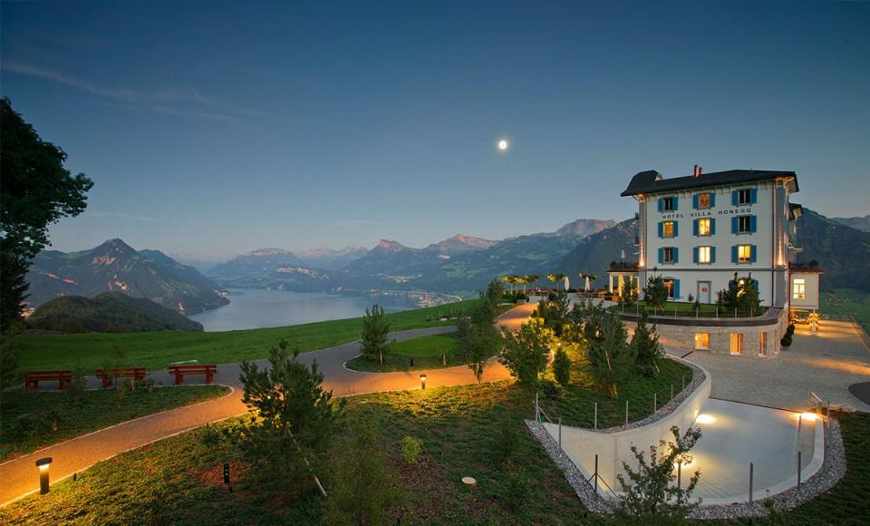 Hotel Villa Honegg Swizterland Destination Deluxe
