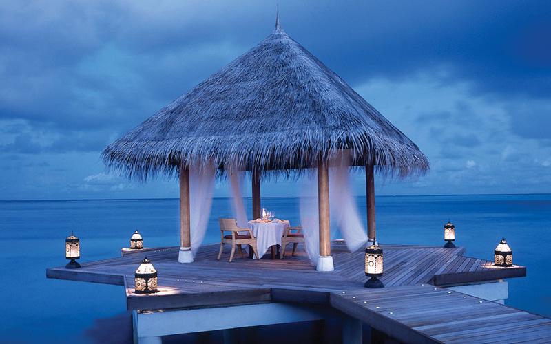 Taj Exotica Maldives Romantic Destination Deluxe