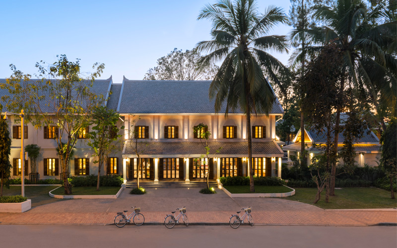 Aman founder adrian zecha opens azerai luang prabang for Luxury hotels in laos