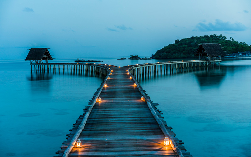 Bawah Private Island Singapore Destination Deluxe