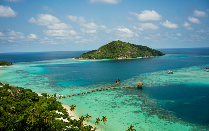 Bawah Private Island near Singapore Destination Deluxe