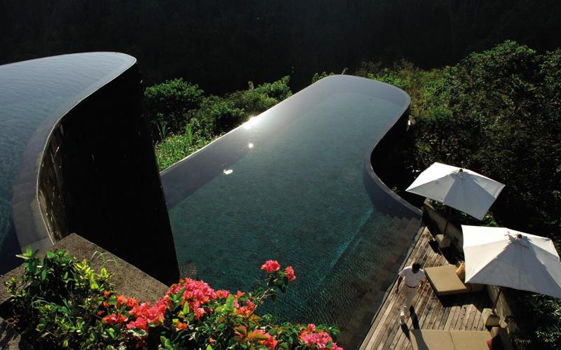 Hanging Gardens Ubud Bali - Destination Deluxe