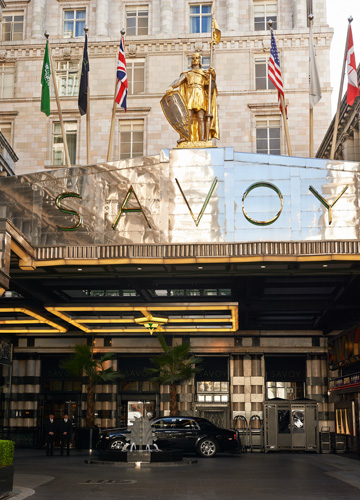 The Savoy Hotel London UK - Destination Deluxe