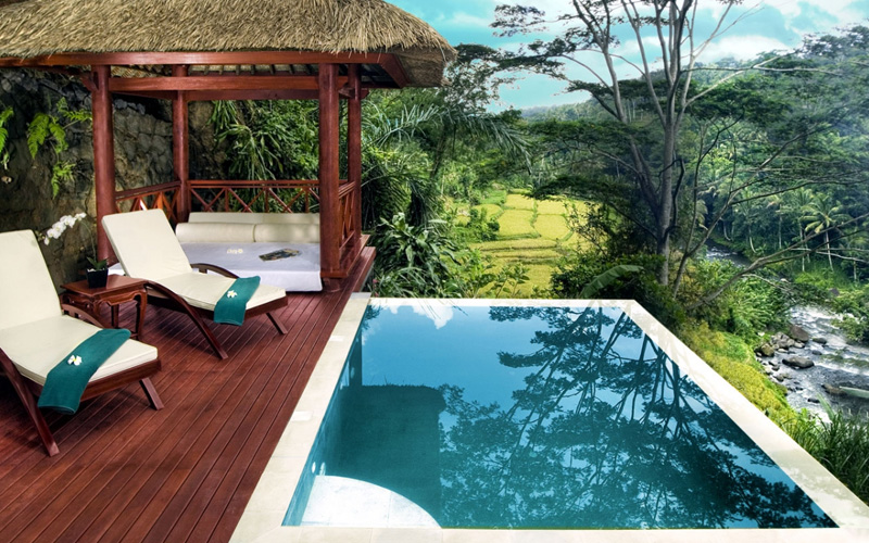 Kupu Kupu Barong Pool Villa Bali - Destination Deluxe