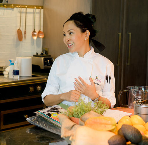 Superfoods Chef Sandra Lim - Destination Deluxe