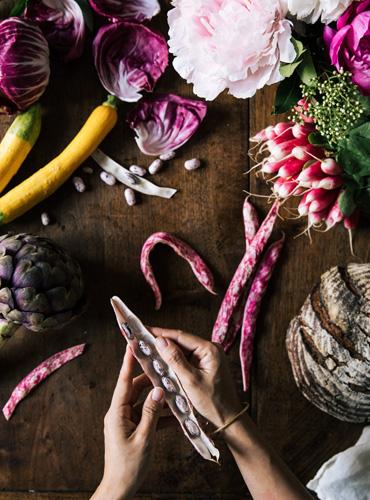 Superfoods Chef Sandra Lim Flatlay - Destination Deluxe