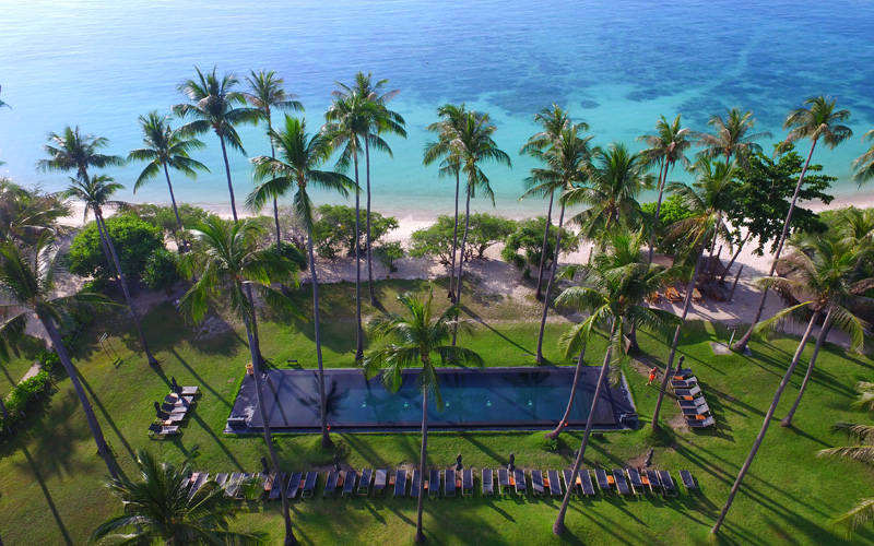 The Haad Tien Beach Resort Koh Tao - Destination Deluxe