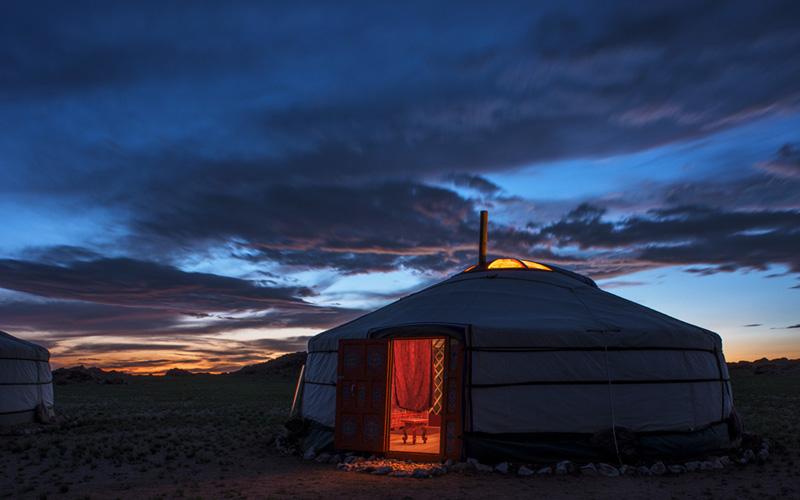 Mongolia Yoga Retreat with Lululemon by Yoga Photographer Richard Pilnick - Destination Deluxe