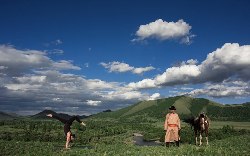 Yoga Retreat in Mongolia with Lululemon by Yoga Photographer Richard Pilnick - Destination Deluxe