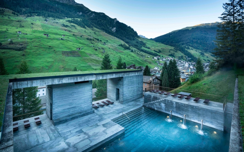 Therme Vals 7132 Hotel - Destination Deluxe