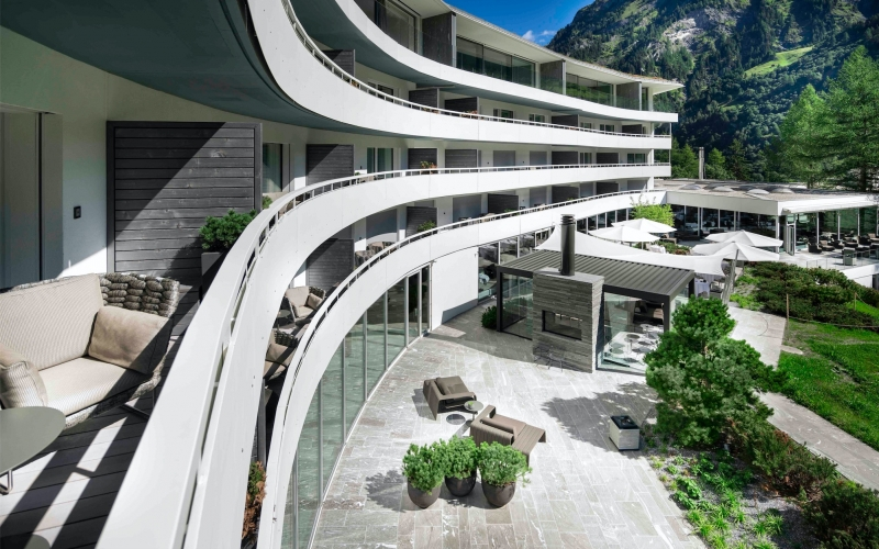 7132 Hotel Vals Switzerland - Destination Deluxe