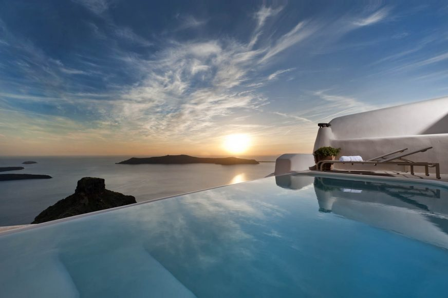 Kapari Natural Resort Santorini Sunset - Destination Deluxe