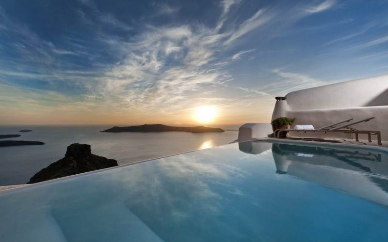 Kapari Natural Resort Santorini Sunset - Destination Deluxe