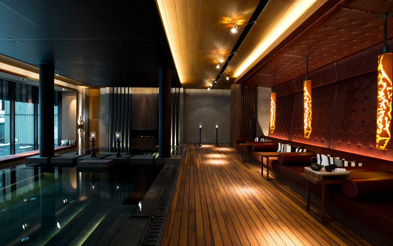 The Chedi Andermatt Switzerland Indoor Pool - Destination Deluxe