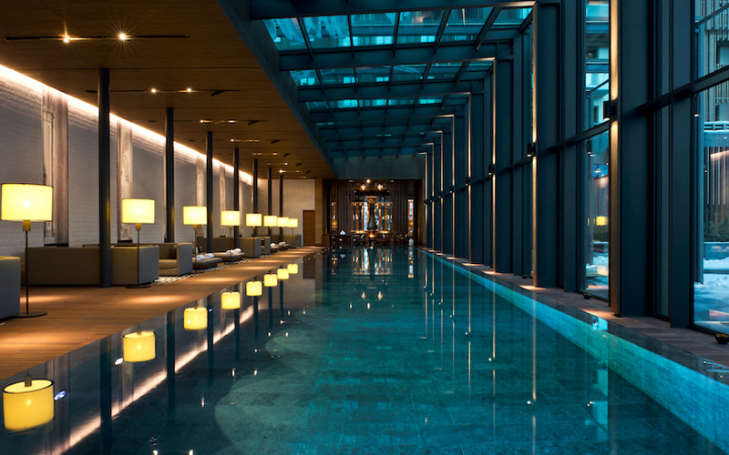 The Chedi Andermatt Wellness Pool - Destination Deluxe