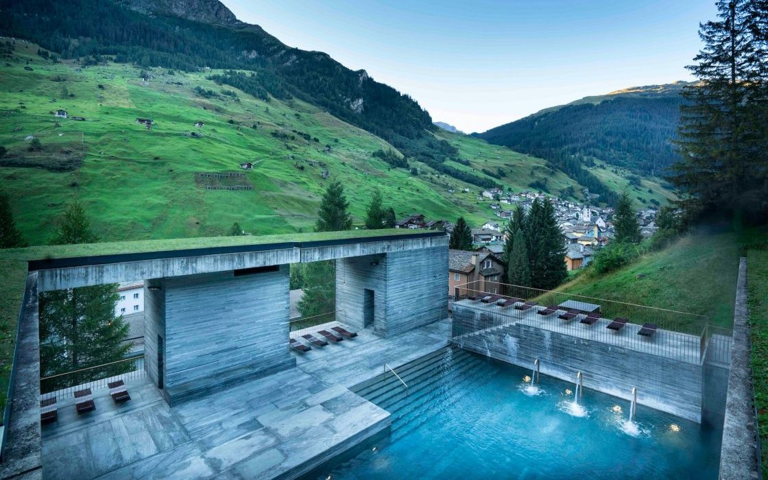 7132 Hotel Therme Vals Switzerland - Destination Deluxe