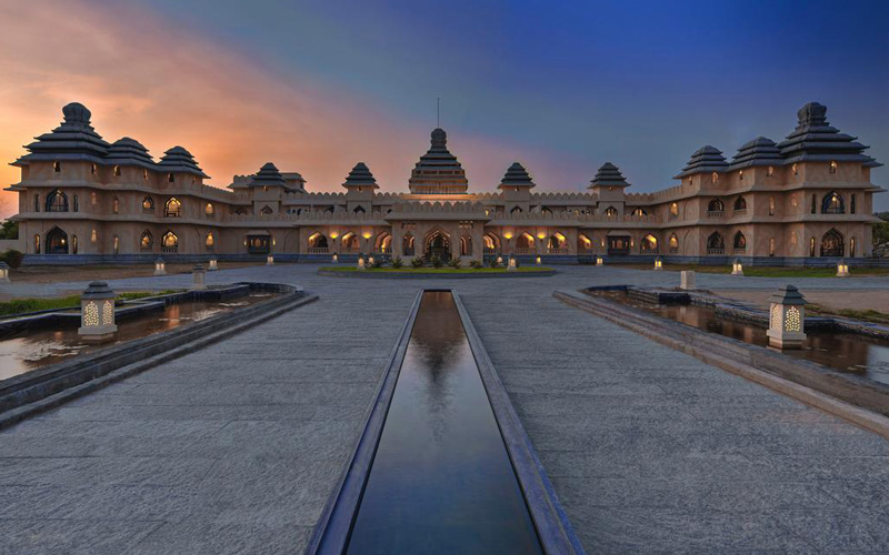 Evolve Back Kamalapura Palace Hampi - Destination Deluxe