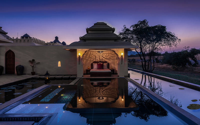 Evolve Back Kamalapura Palace Hampi in India - Destination Deluxe
