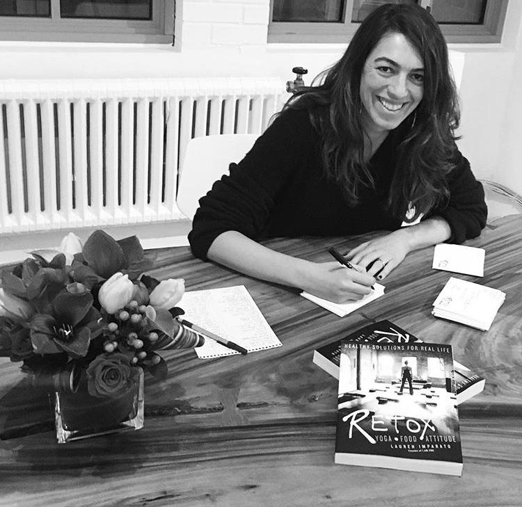 Lauren Imparato Detox to Retox Book - Destination Deluxe