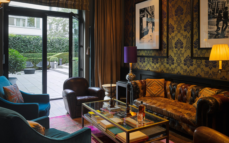 Boutique hotels europe destination deluxe for Hippes hotel hamburg