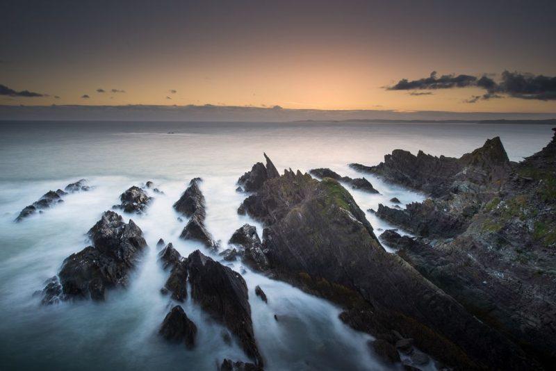Haven Coast Galley Head Coastline Sunset Journeys by Chance - Destination Deluxe