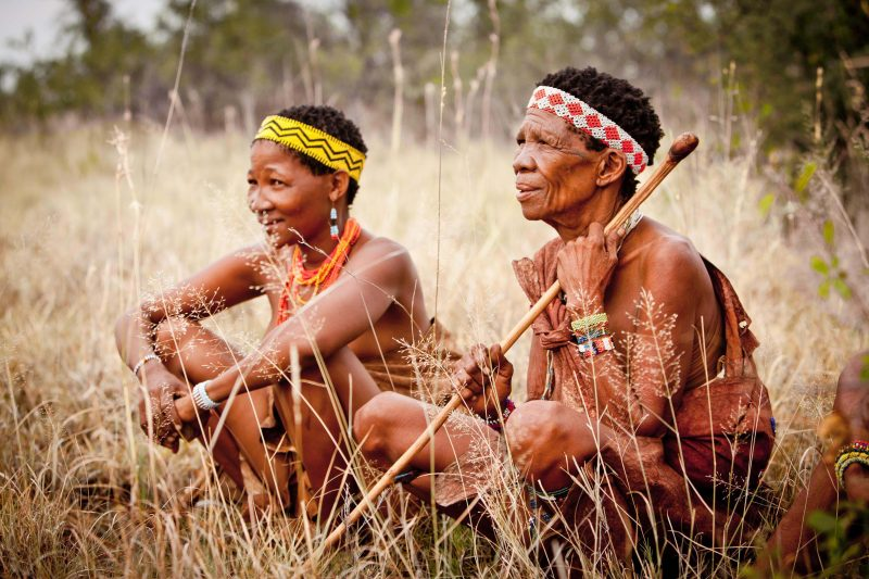 Walking with Bushmen Blueflower Travel - Destination Deluxe