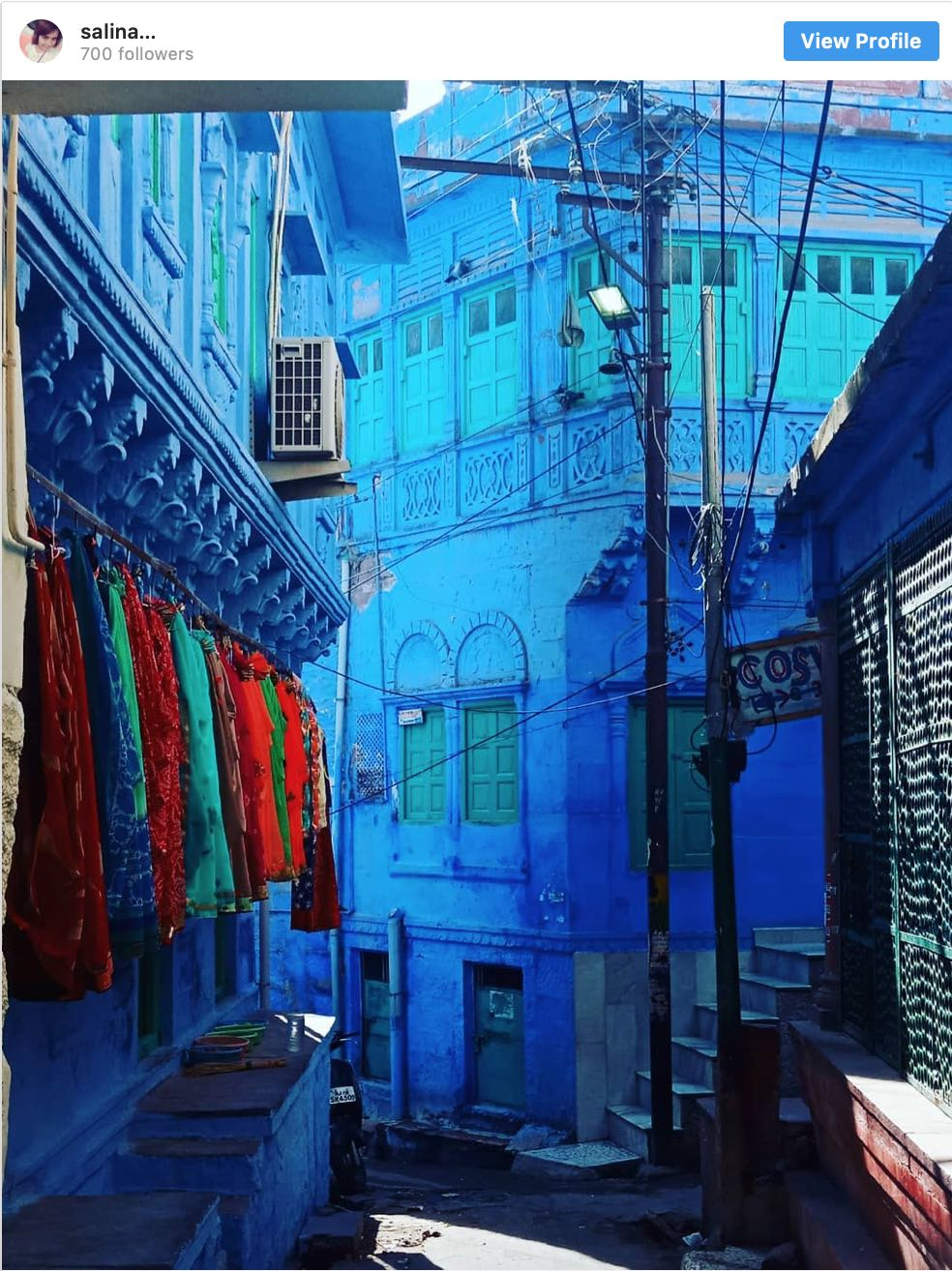 Instagram Spots Blue City Jodhpur - Destination Deluxe