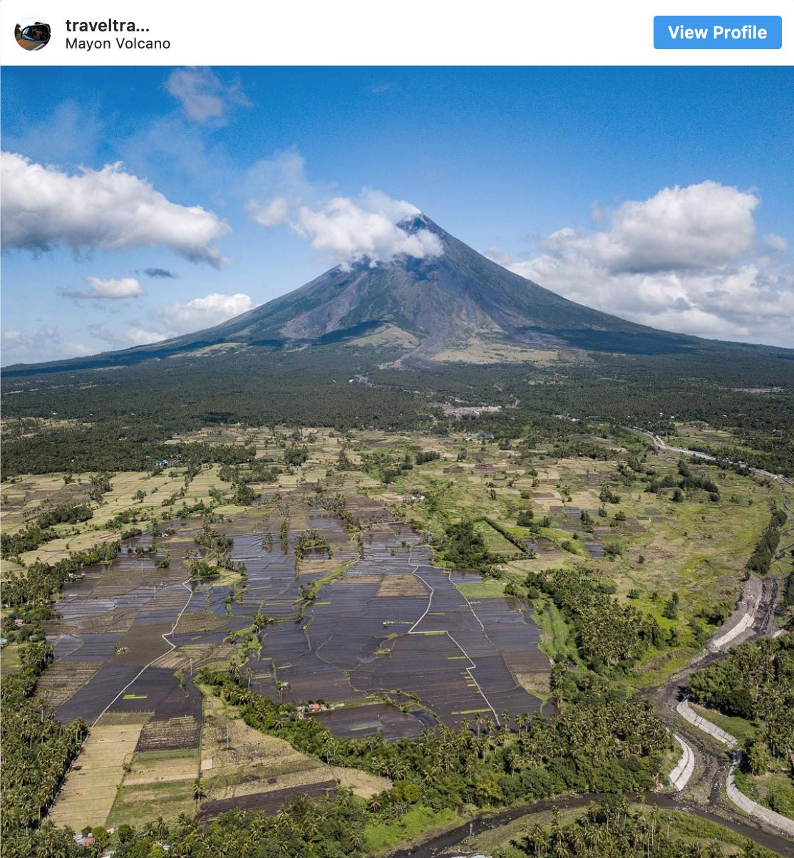 Instagram Spots Mount Mayon - Destination Deluxe