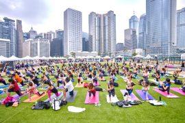Iris Festival Hong Kong Yoga Day - Destination Deluxe