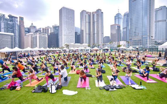 Iris Festival Hong Kong Yoga Day - Destination Deluxe