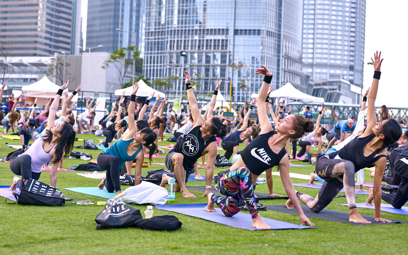 Iris Festival Hong Kong Yoga and Wellness - Destination Deluxe