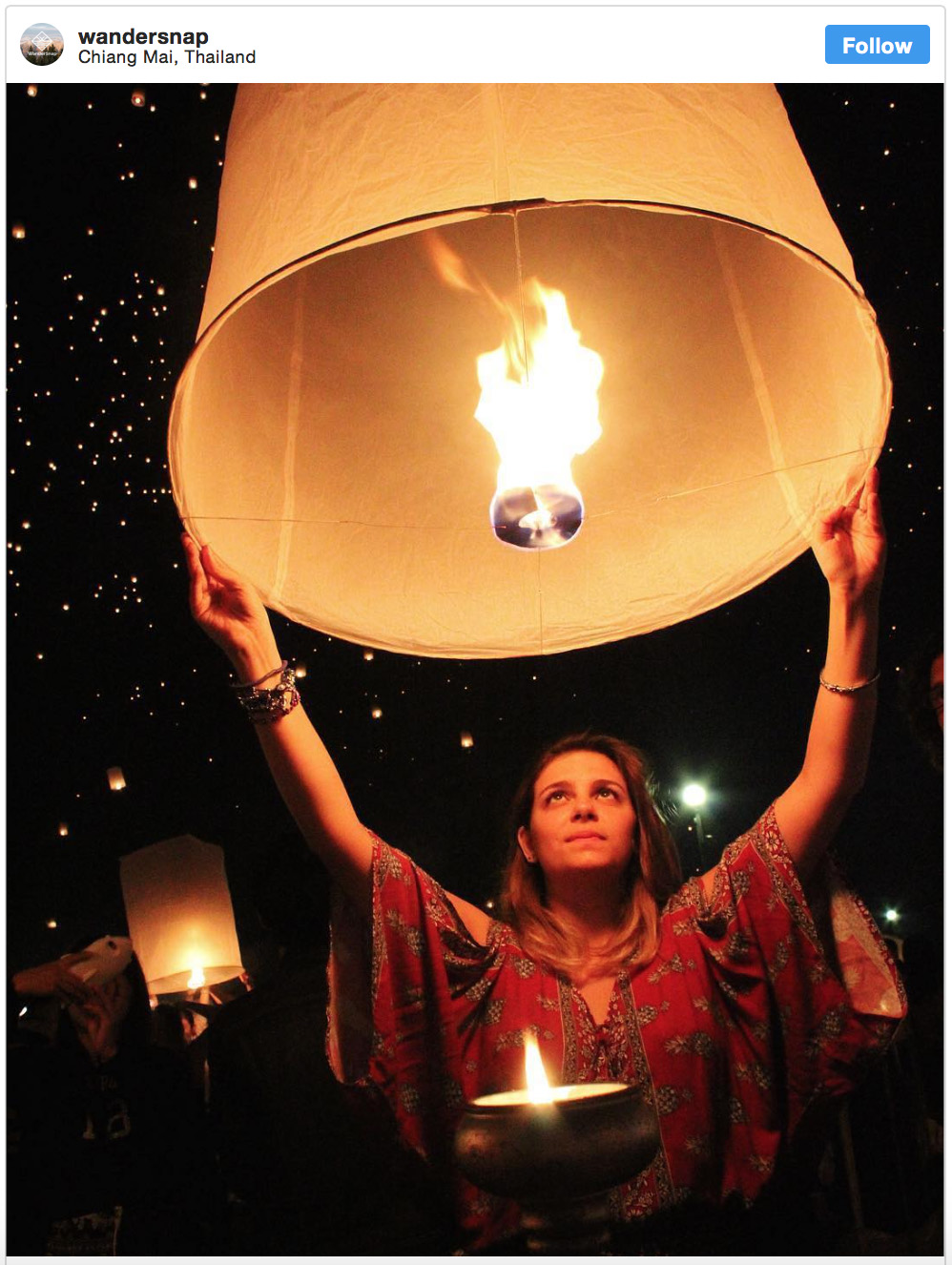 Wandersnap Yee Peng Lantern Festival Chiang Mai - Destination Deluxe