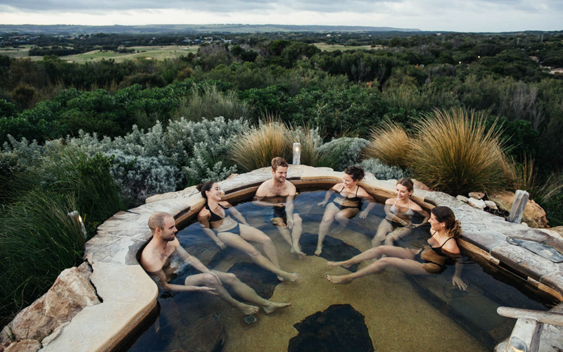 Peninsula Hot Springs Melbourne Australia - Destination Deluxe