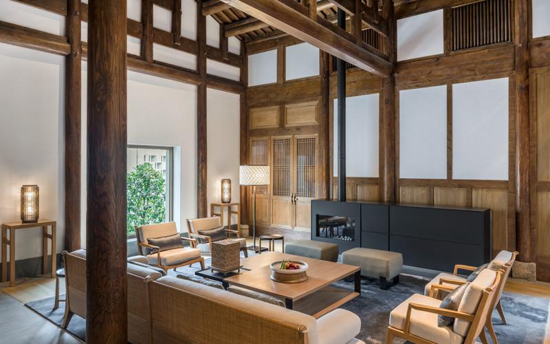 Amanyangyun Heritage Villa Living Room - Destination Deluxe