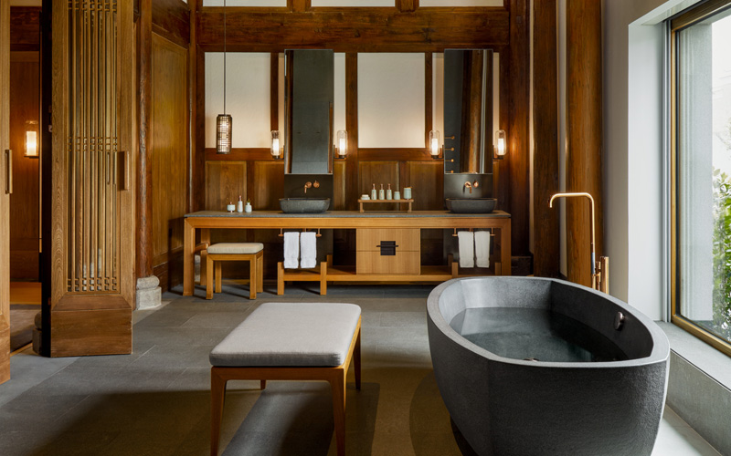 Amanyangyun Shanghai Heritage Villa Bathroom Goals - Destination Deluxe