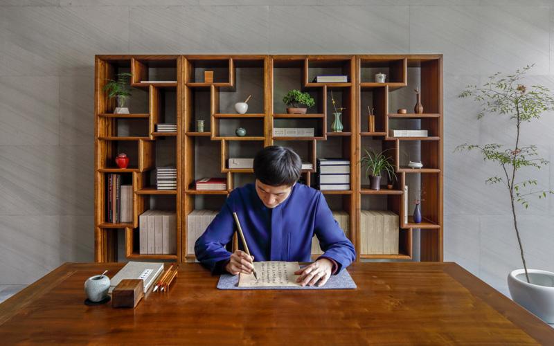 Amanyangyun Shanghai Nanshufang Calligraphy - Destination Deluxe