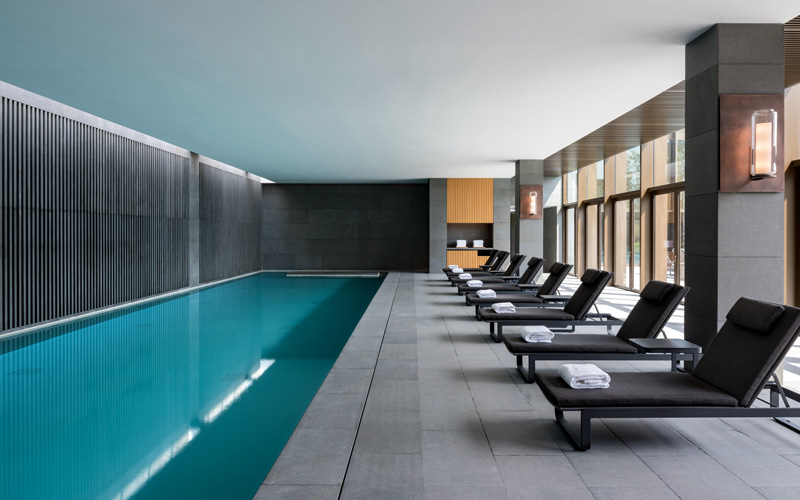 Amanyangyun Shanghai Spa Wellness Indoor Swimming Pool - Destination Deluxe