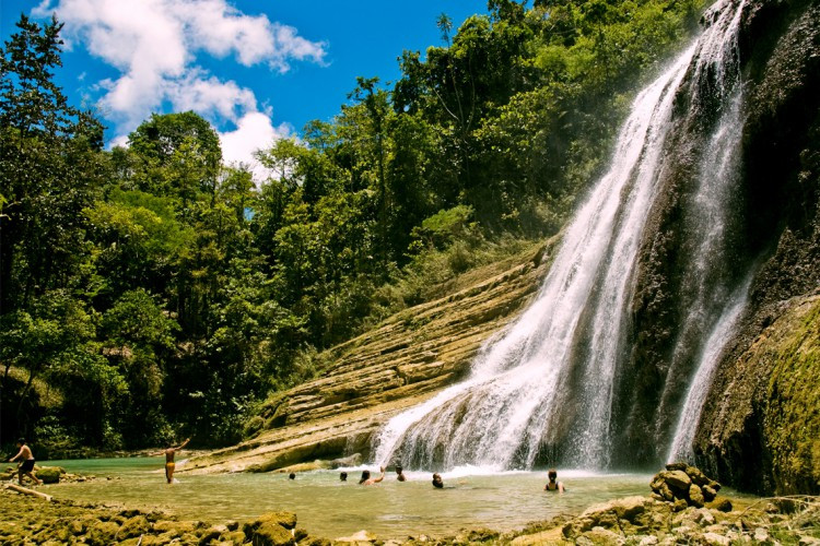 Can-umantad Falls Bohol - Destination Deluxe
