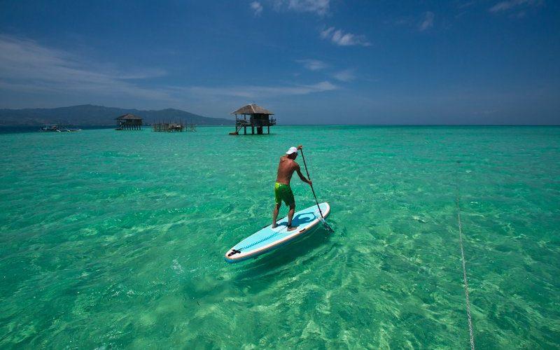 Standup Paddleboarding Bohol - Destination Deluxe
