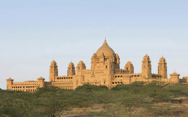 Umaid Bhawan Palace India - Destination Deluxe