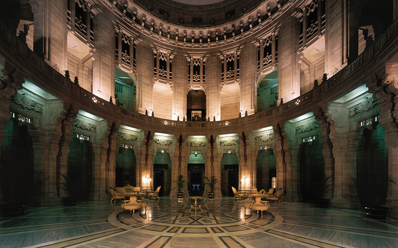Umaid Bhawan Palace Jodhpur India Lobby - Destination Deluxe