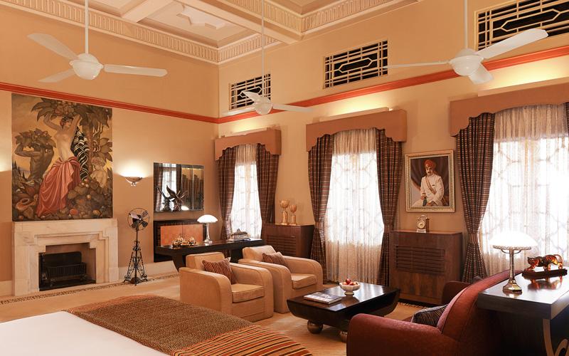 Umaid Bhawan Palace Jodhpur Maharaja Suite - Destination Deluxe