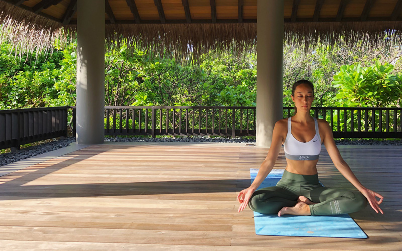 Energising Program Meditation Velaa Private Island Maldives - Destination Deluxe