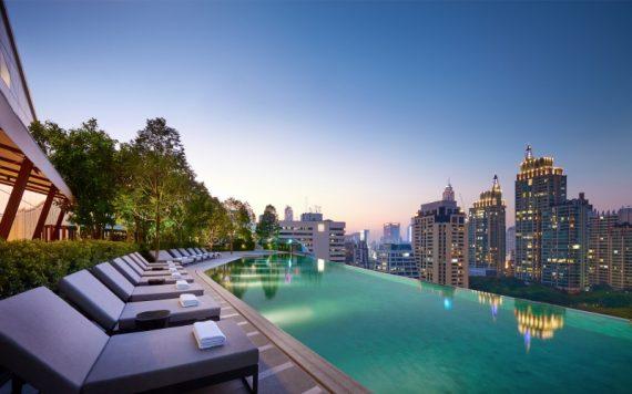 Park Hyatt Bangkok Pool Goals - Destination Deluxe