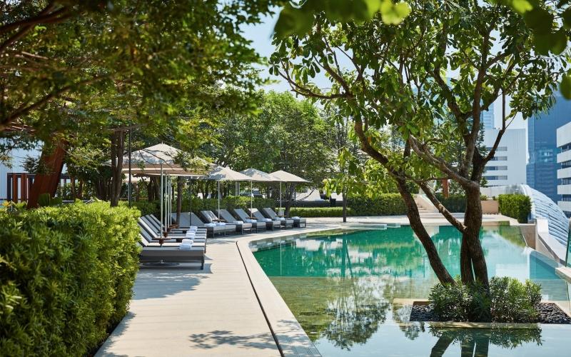 Park Hyatt Bangkok Pool Thailand - Destination Deluxe