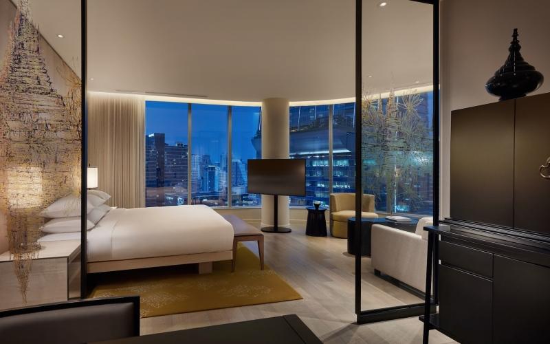 Park Hyatt Bangkok Thailand Deluxe Room - Destination Deluxe