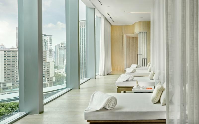 Park Hyatt Bangkok Thailand Panpuri Organic Spa Lounge - Destination Deluxe