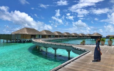Vivienne Tang at Velaa Private Island Maldives - Destination Deluxe