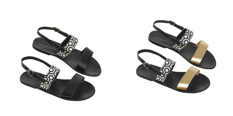 Alasia Lifestyle x MISCHA sandals - Destination Deluxe